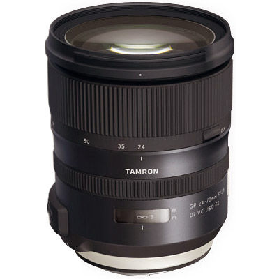 24-70mm f/2.8 Di SP VC USD G2 Zoom Lens for Nikon F Mount