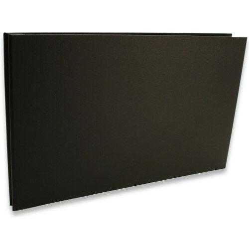 Bex 11x17 Landscape Screwpost Binder / Black + 20 Pro-Archive Sheet Protectors