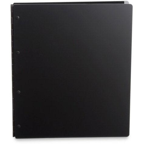 Vista 8.5x11 Portrait Screwpost Binder / Onyx + 20 Pro-Archive Sheet Protectors