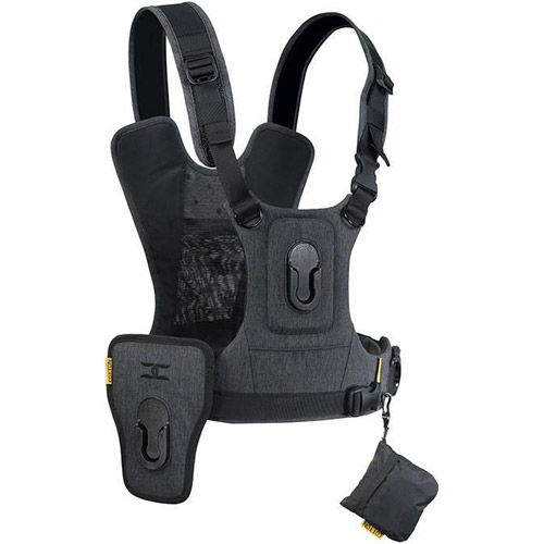 G3 Camera Harness for 2 Cameras - Charcoal Grey