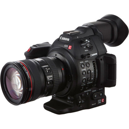 EOS C100 Mark II w/ EF24-105mm II f4L IS USM Lens