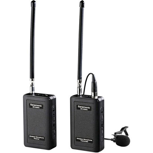 SR-WM4C 4-Channel Lavalier VHF Wireless Microphone System