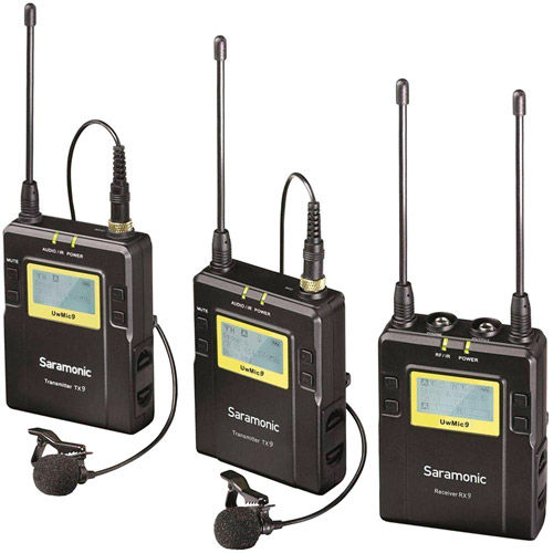 Wireless Lavalier Microphones