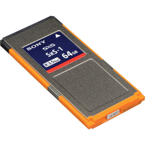 64GB SxS-1 (G1C/2) Memory Card