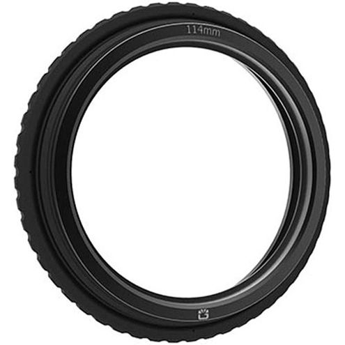 143mm Rubber Donut - 114mm Ring Fitted With Retaining Ring For 138mm Round Filters