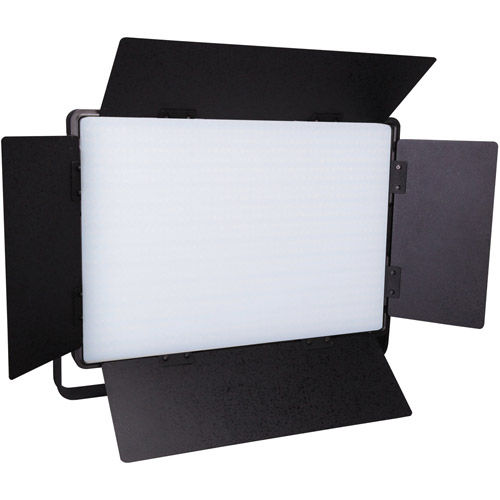 CN-D500T Soft LED Light 5600K with Wifi/DMX, Barndoors and AC Adapter