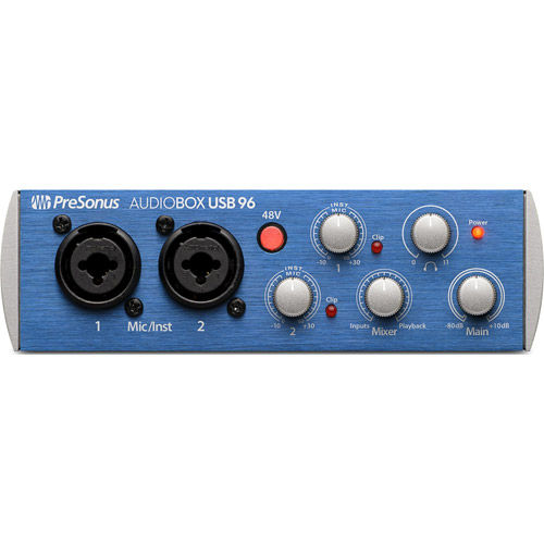 AudioBox 96 USB 2.0 Audio Recording Interface