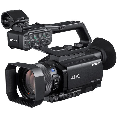 HXR-NX80 4K Compact NXCAM Camcorder