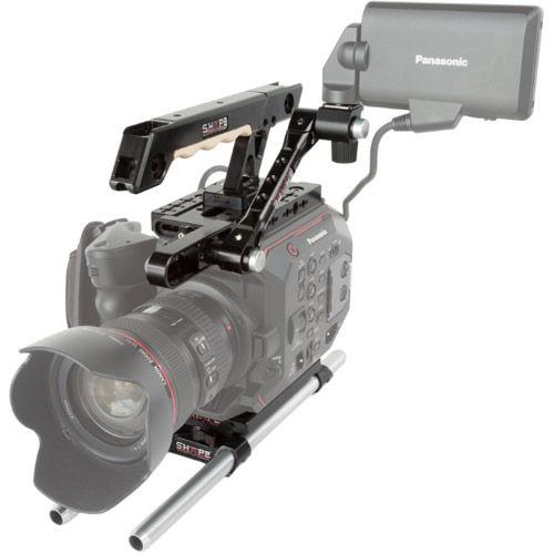 Panasonic AU-EVA1 15mm LW Handle EVF Mount