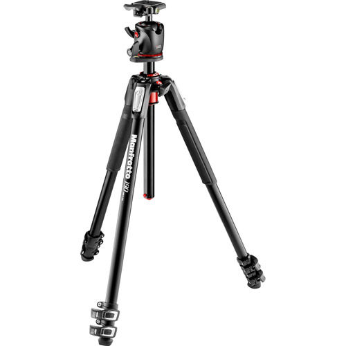 190 Aluminum Tripod 3 Section With MHXPRO-BHQ2 Ball Head