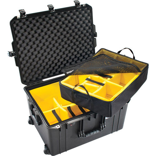 1637 Air Case Black w/Padded Dividers
