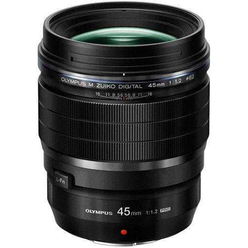 M.Zuiko ED 45mm f/1.2 PRO Lens