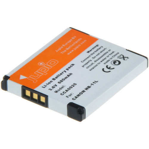 NB-11L Lithium-Ion Rechargeable Battery for Canon Cameras - 680 mAh