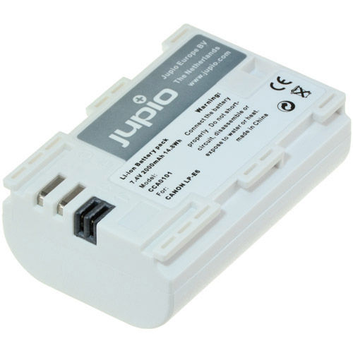 Image of Jupio LP-E6 *ULTRA* Lithium-Ion Rechargeable Battery for Canon Cameras - 2000 mAh