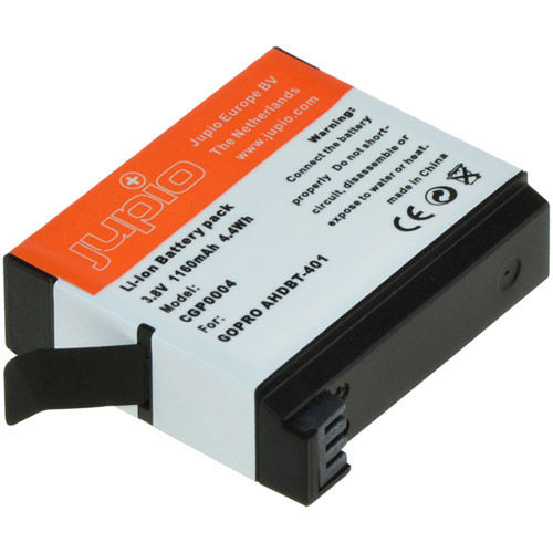 AHDBT-401 HERO4 Lithium-Ion Rechargeable Battery for GoPro Cameras - 1160 mAh