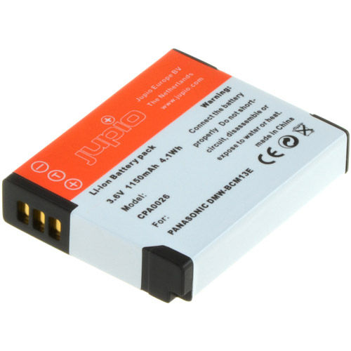 DMW-BCM13E Lithium-Ion Rechargeable Battery for Panasonic Cameras - 1150 mAh