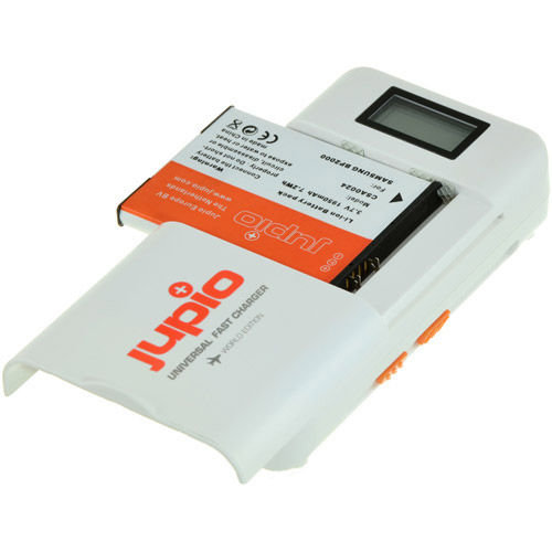 Universal Fast Lithium-Ion/AA/AAA/Mobile Phone Battery Charger with LCD Screen