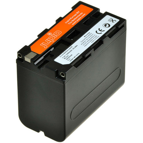 NP-F970 Lithium-Ion Rechargeable Battery for Sony Cameras - 7400 mAh