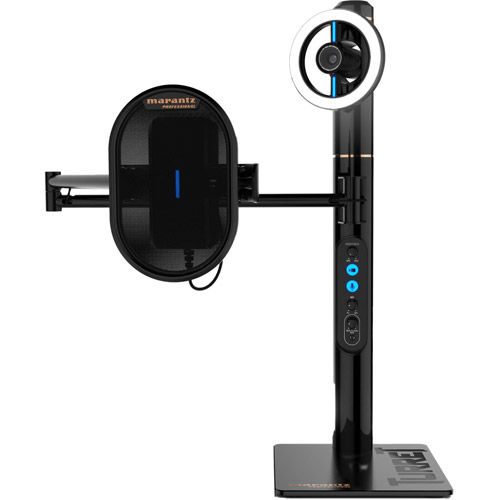 Turret Broadcast Video Streaming System Includes Streaming Webcam System with Mic & Ring Light
