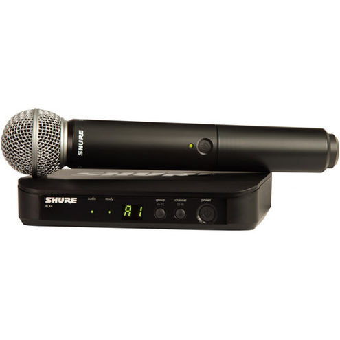 BLX24 Vocal Wireless System With SM58 Mic (H9: 512 - 542 MHz)