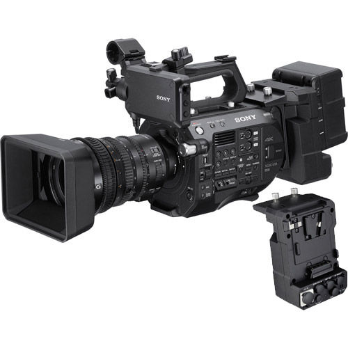 PXW-FS7 II XDCAM Super 35 Camera System Kit w/ 18-110mm Zoom Lens w/ XDCA-FS7 Extension Unit