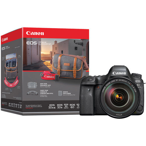 Canon EOS 6D Mark II Body With Premium Accessory Pack