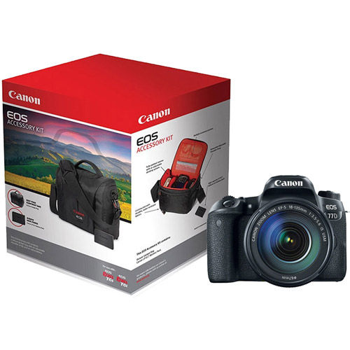 EOS 77D Body With Rebel Accessory Pack