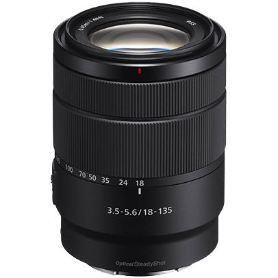 SEL 18-135mm f/3.5-5.6 OSS E-Mount Lens