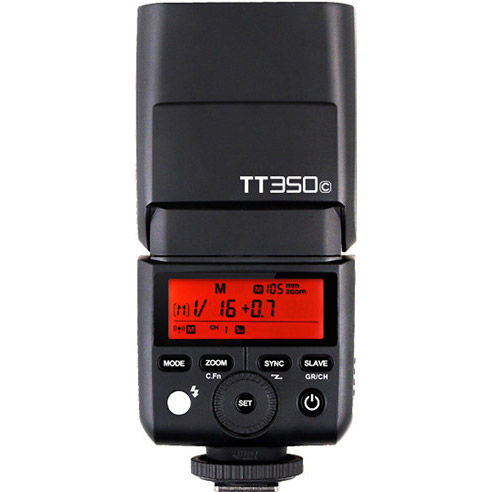 TT350 Flash Kit for Canon Includes Pouch, Cord, Stand and Instruction Manual