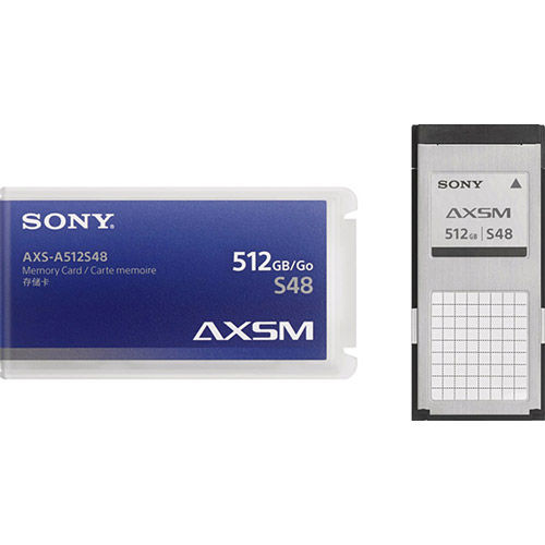 AXS Raw OCN Memory Card for R7 Venice 512GB 4.8 Gbps (Pack of 6)