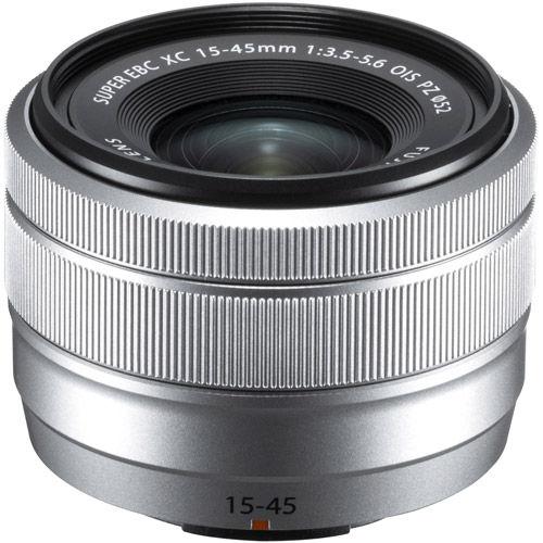 Fujinon XC 15-45mm f/3.5-5.6 OIS PZ Silver Lens