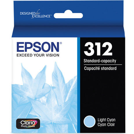 T312520-S Light Cyan Ink Cartridge w/ Sensormatic