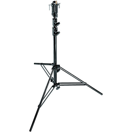 Black Steel Senior Stand With Leveling Leg