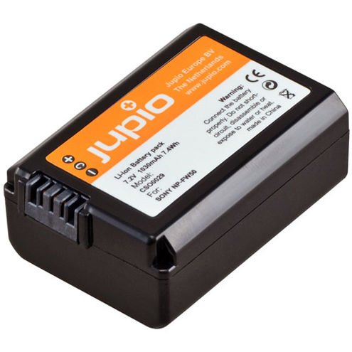 NP-FW50 Lithium-Ion Rechargeable Battery for Sony Cameras - 1030 mAh