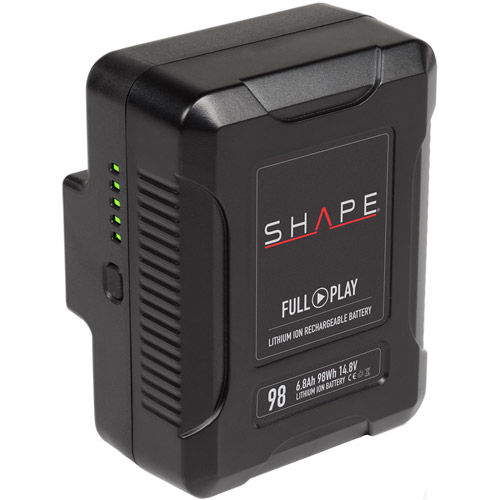 V-Mount Shape Lithium-Ion 14.8V/98WH Rechargeable Battery