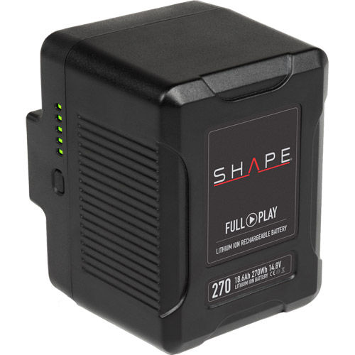 Gold-Mount Shape Lithium-Ion 14.8V/270 WH Rechargeable Battery