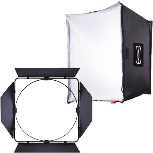 Rotolight Aluminum Barn Doors For Aeos With Softbox Kit Promo