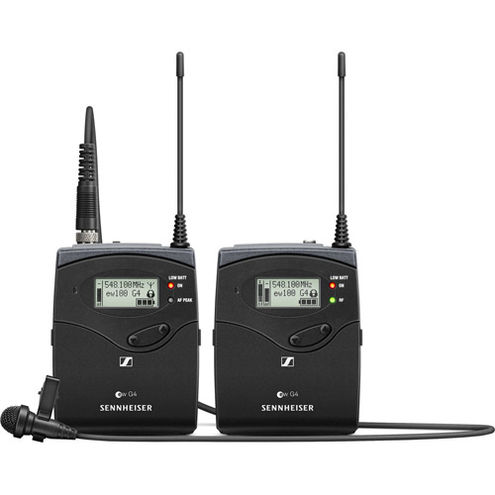 EW112P G4 Camera Mount Wireless Mic System  w/ ME2-II Lavalier Mic - A1: 470 to 516 MHz
