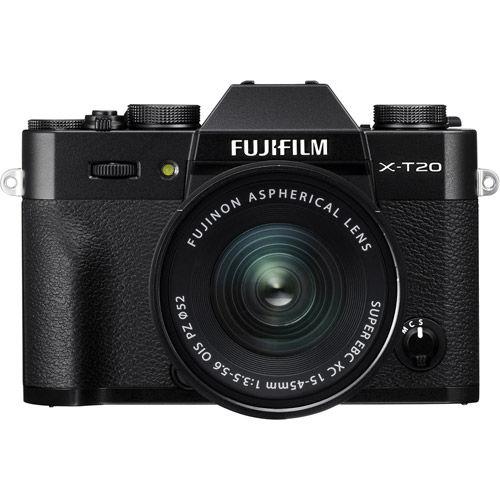 X-T20 Mirrorless Kit Black w/ XC 15-45mm f/3.5-5.6 OIS PZ Lens