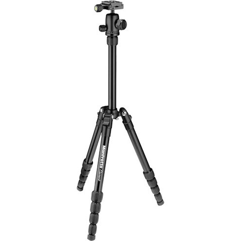 Element Traveller Aluminum Tripod Kit Small Black 5-Section With Ball Head With ARCA-Style QR