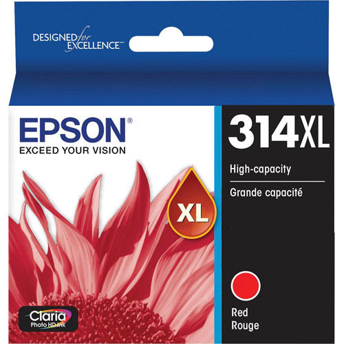 T314XL820-S Red Ink Cartridge High Capacity w/ Sensormatic for XP-15000