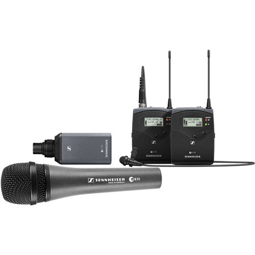 EW100 ENG G4 combo set with E835 Mic include SK 100 w/ SKP 100 G4 range: A (516 - 558)
