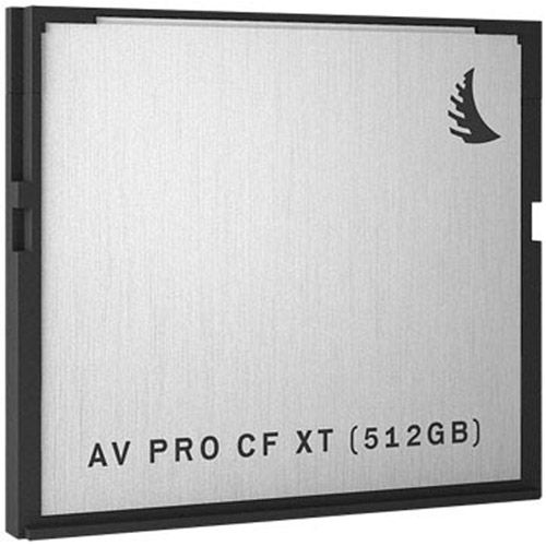 AVPRO 512GB CFast XT Card, 550MB/s read & 480MB/s write speeds