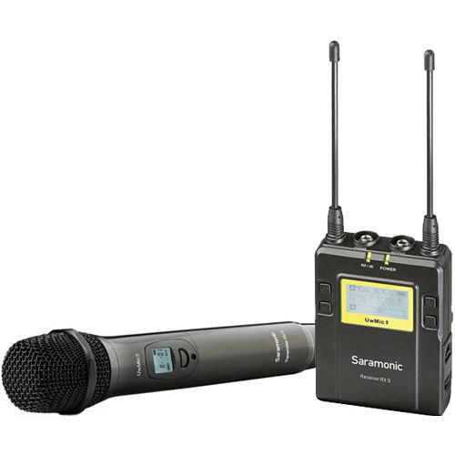 UwMic9 (HU9+RX9) - UHF Wireless Mic System