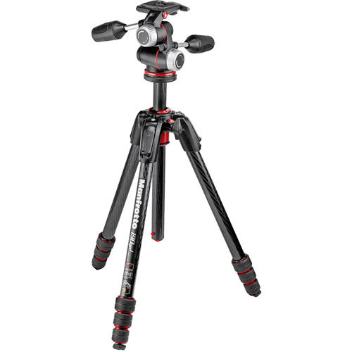 190GO! M-SERIES CARBON FIBRE TRIPOD + + MHXPRO-3W 3-WAY HEAD
