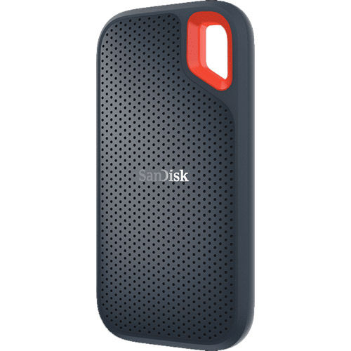 Extreme 2TB Portable Rugged SSD - 550MB/s read speed