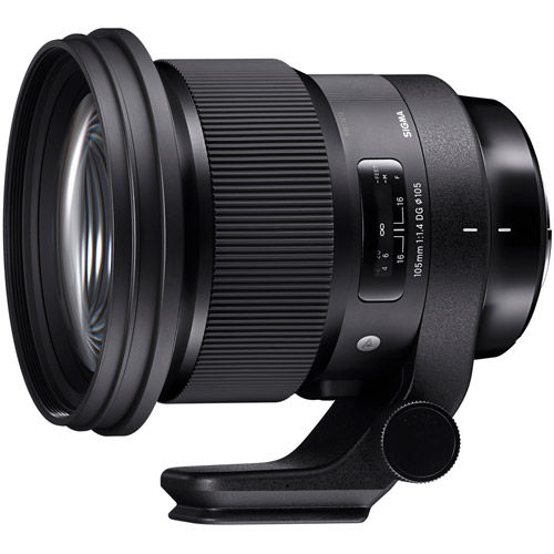 Image of Sigma 105mm f/1.4 DG HSM Art Lens for Canon