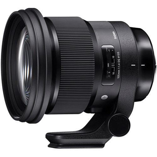 Image of Sigma 105mm f/1.4 DG HSM Art Lens for Nikon
