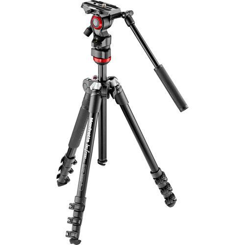 Befree Aluminum Legs With Twist Lock And MVH400AH Fluid Head
