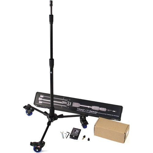 Triad 3C Tall Tripod Stand With casters